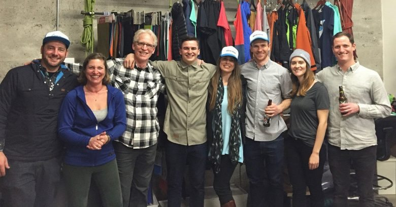 TREW and Snowledge Crews at TREW Store Opening in Portland, OR