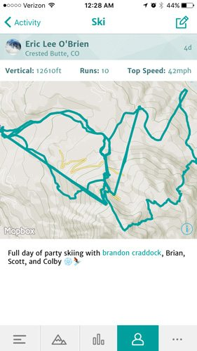 Crested Butte Extremes 4* FWQ Weekend | Snowledge GPS Tracker