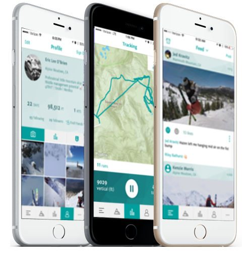 snowledge gps ski tracking iphone app image