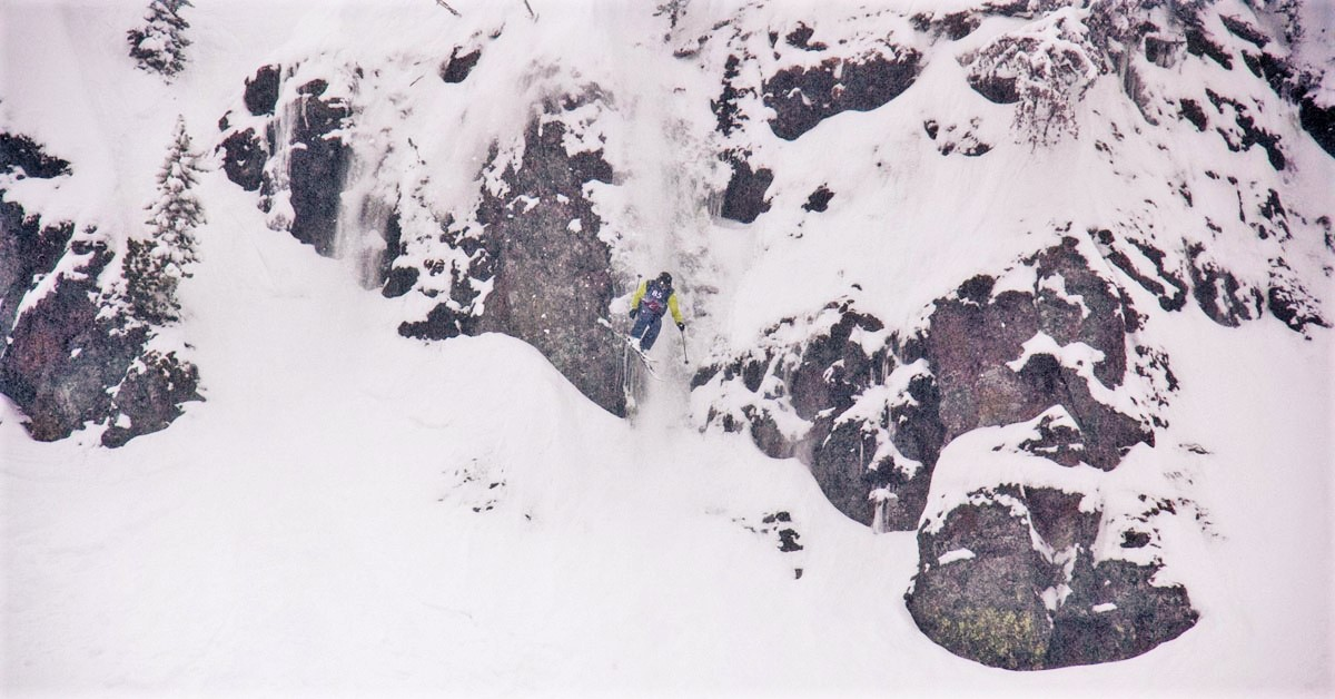 Snowledge Founder Eric O'Brien at Crystal Mountain Northway