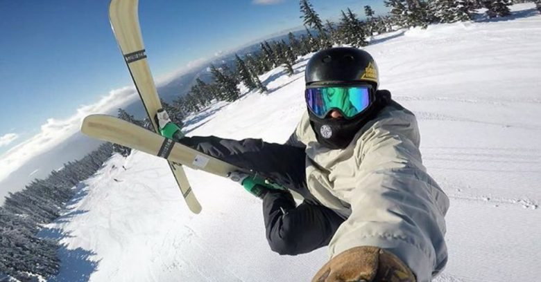 X-Games Judge and Pro Skier Jason Arens Goes Deep