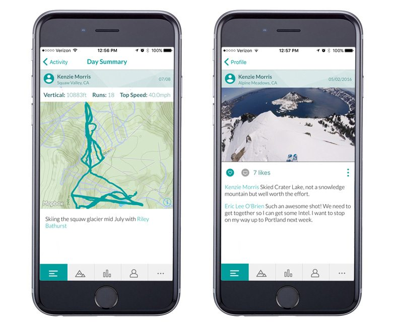 Snowledge GPS Tracking App | Facing Fear and Moving Mountains