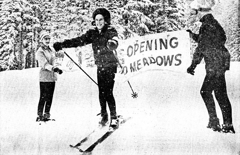 Olympic Gold Medalist 1948 Gretchen Fraser | Mt. Hood Meadows Opening 1968 | Snowledge