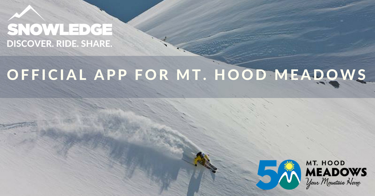 Snowledge | Official App for Mt. Hood Meadows
