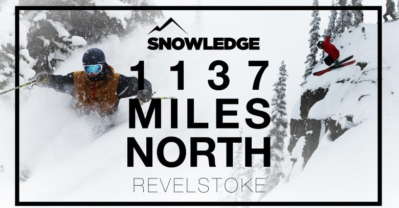 revelstoke skiing powder