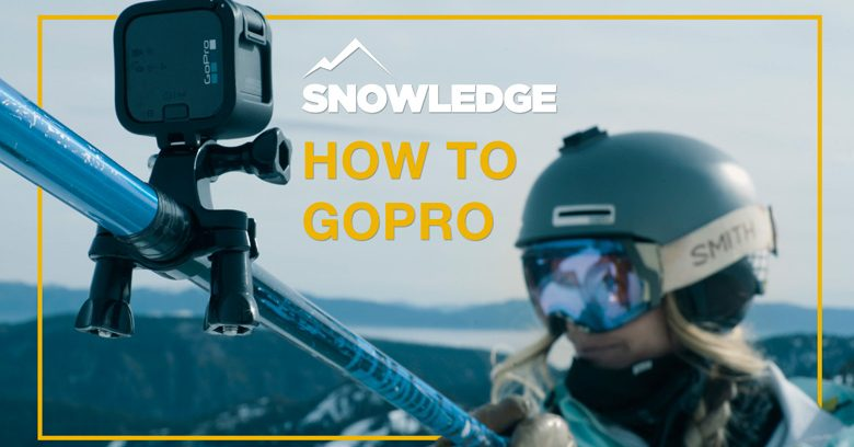 How To GoPro | Snowledge | Kenzie Morris showing off the selfie angle