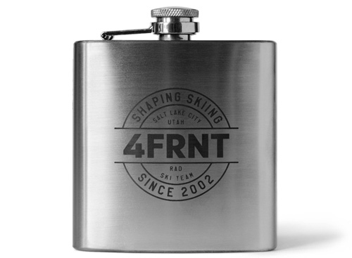 4FRNT Team Flask | The Ultimate Gift Guide for Skiers | Snowledge