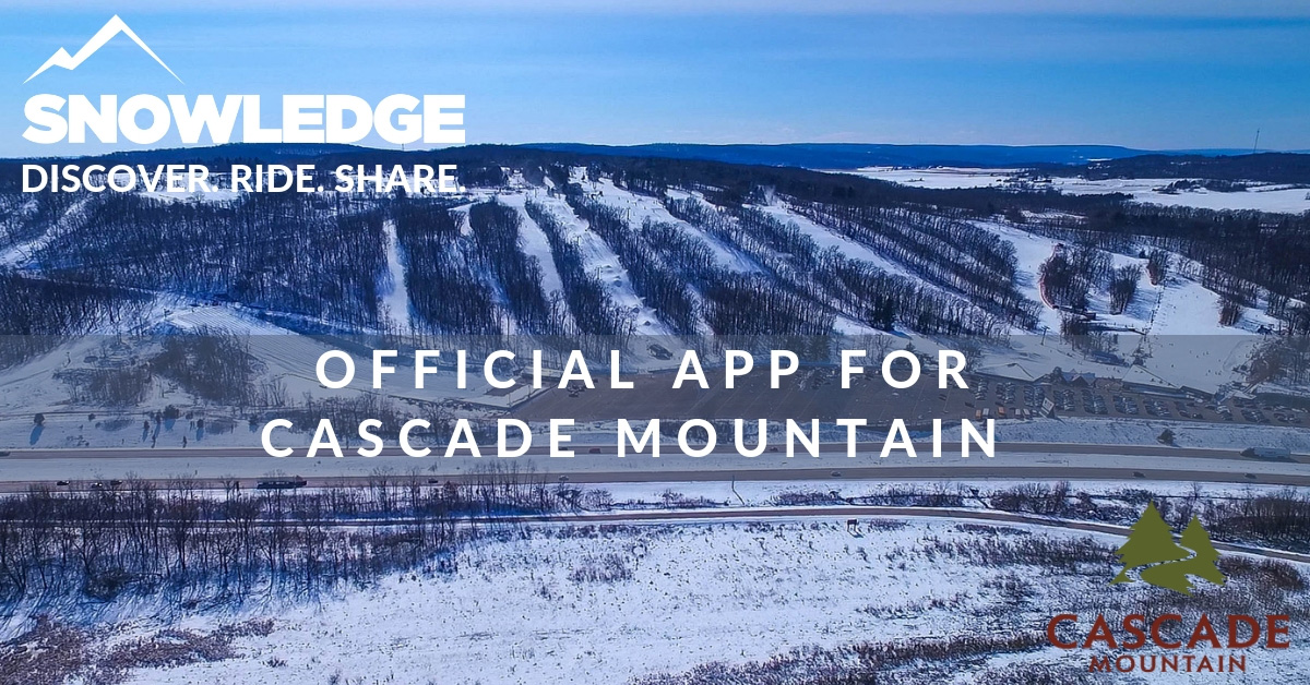 Cascade Mountain Official App | Snowledge