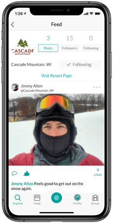 Cascade Mountain Snowledge Feed