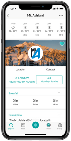 Mt. Ashland Snowledge Resort Profile