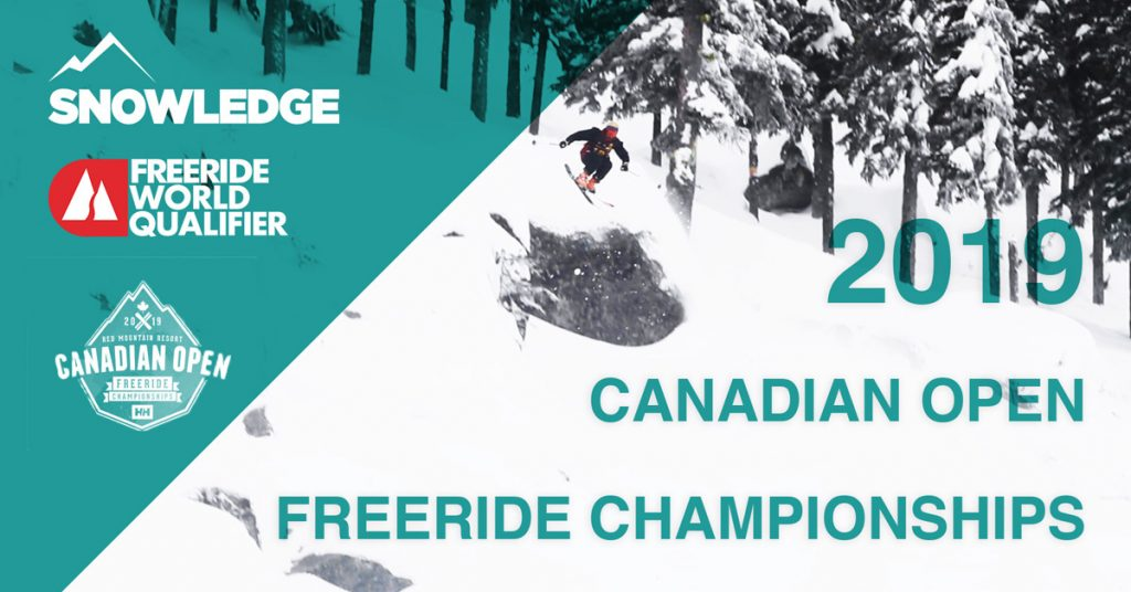 2019 Canadian Open Freeride Championships at Red Mountain | Snowledge