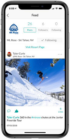 Mt. Rose Snowledge Feed