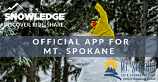 Mt. Spokane Ski & Snowboard Park Official App | Snowledge | Photo Credit Gary Peterson Photography