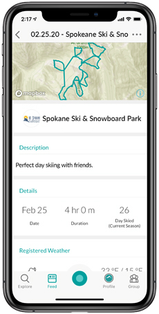Snowledge Activity Summary | Mt. Spokane Ski & Snowboard Park