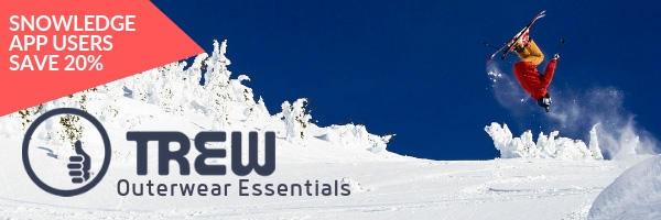 Snowledge App Users Save 20% On TREW Gear