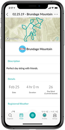 Snowledge Activity Summary | Brundage Mountain