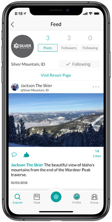 Silver Mountain Snowledge Feed